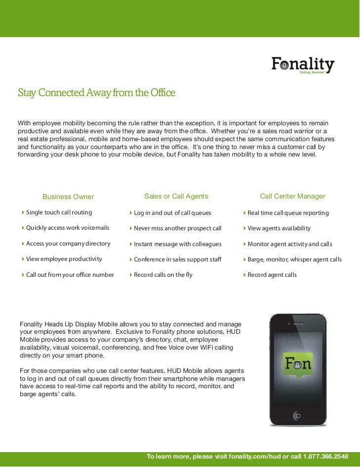 Stay Connected Away from the OfficeWith employee mobility becoming the rule rather than the exception, it is important for...