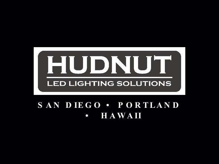 Hudnut Company LED lighting presentation, Part 1 (Rose Goehner)