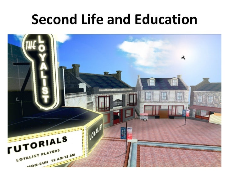 Second Life and Education