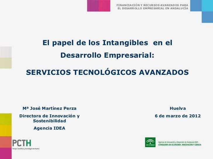 FINANCIACIÓN Y RECURSOS AVANZADOS PARA                              EL DESARROLLO EMPRESARIAL EN ANDALUCÍA         El pape...