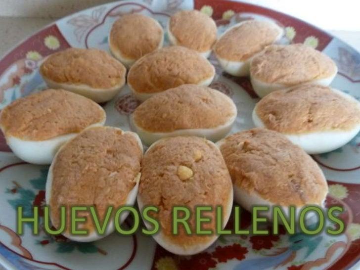 HUEVOS RELLENOS<br />