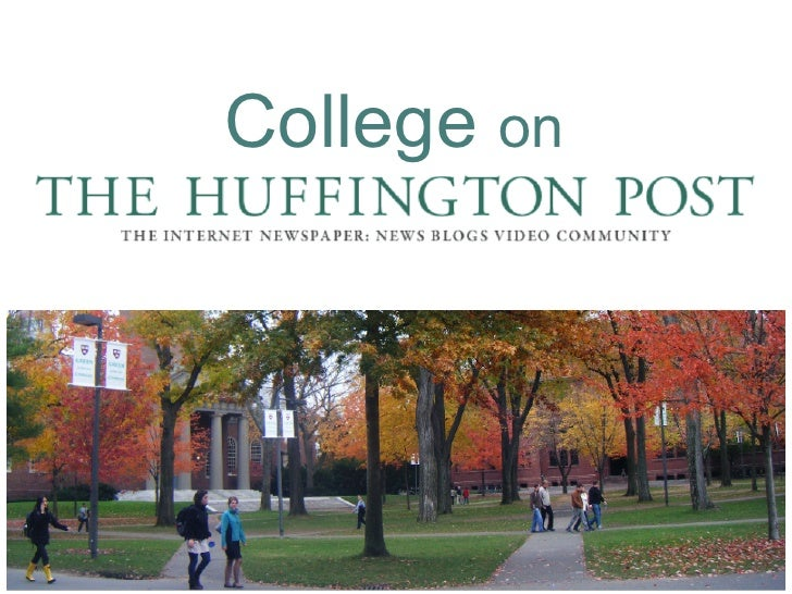 Huff Post College Edition - Offering