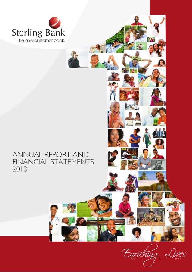 Sterling bank annual report 2013