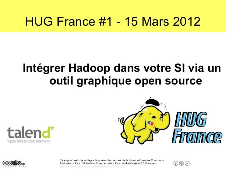 Talend Open Studio for Big Data (powered by Apache Hadoop)