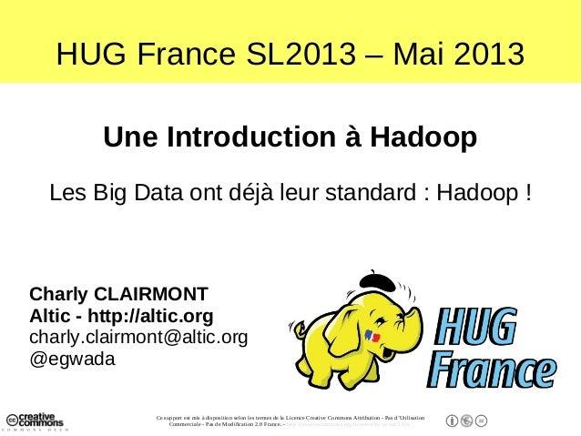 Une Introduction à Hadoop