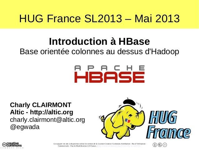 Une introduction à HBase