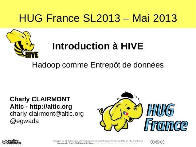 Une introduction à Hive