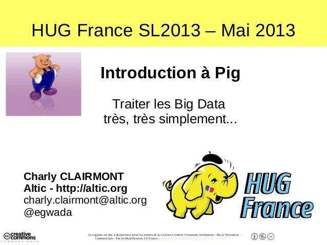 Un introduction à Pig