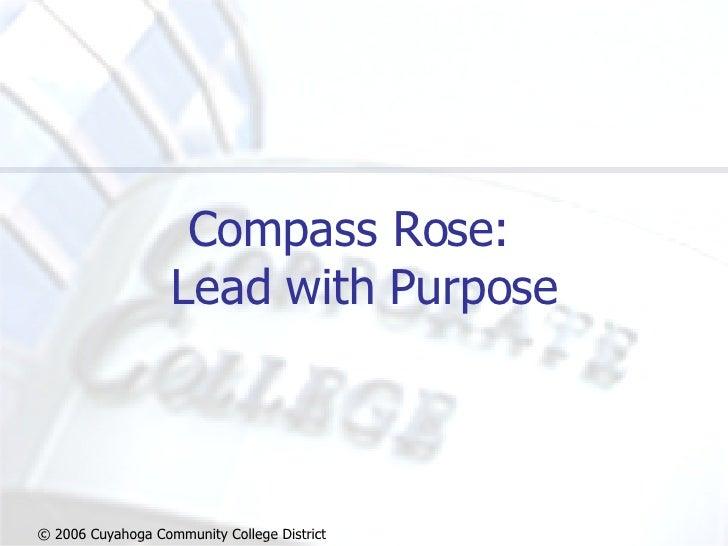 Hugh Littleton - Compass  Rose  Leadership