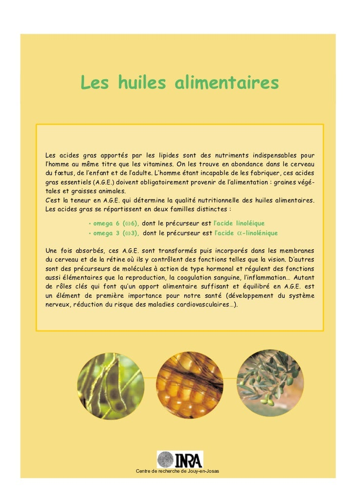 Huile alimentaire