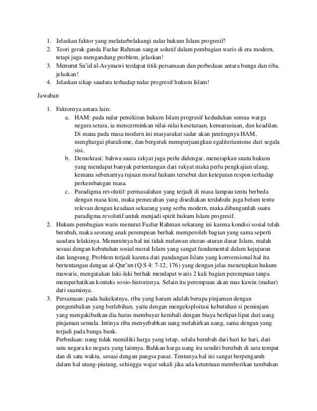 Hukum islam kontemporer