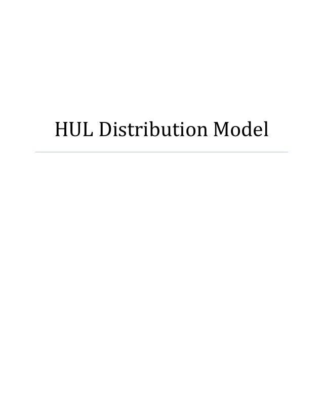 HUL Distribution Model