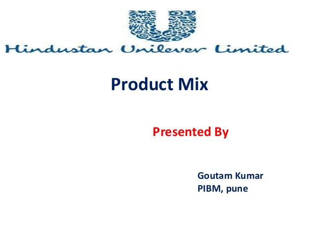 product mix of hul Get an answer for 'what is product line, product mix, line extension, line width and line depth' and find homework help for other business questions at enotes.