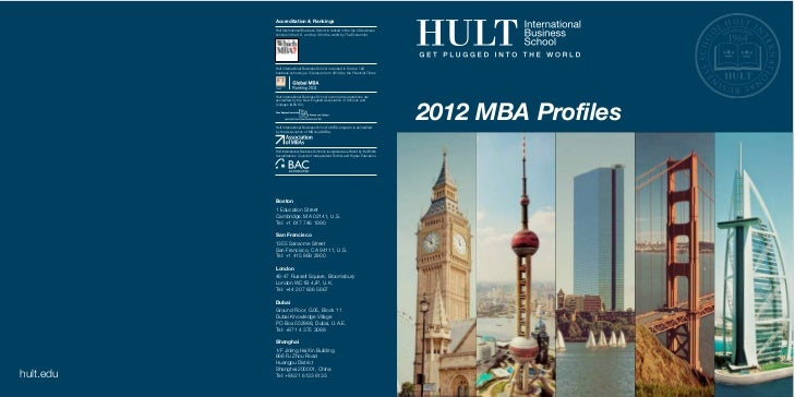 Accreditation & Rankings                                         Hult International Business School is ranked in the top 2...