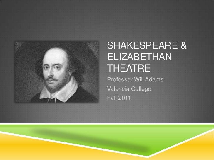 Hum1020 1030 shakespeare & elizabethan theatre