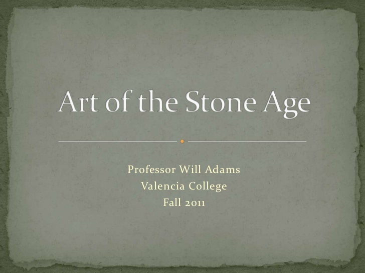 Hum2220 1330 art of the stone age