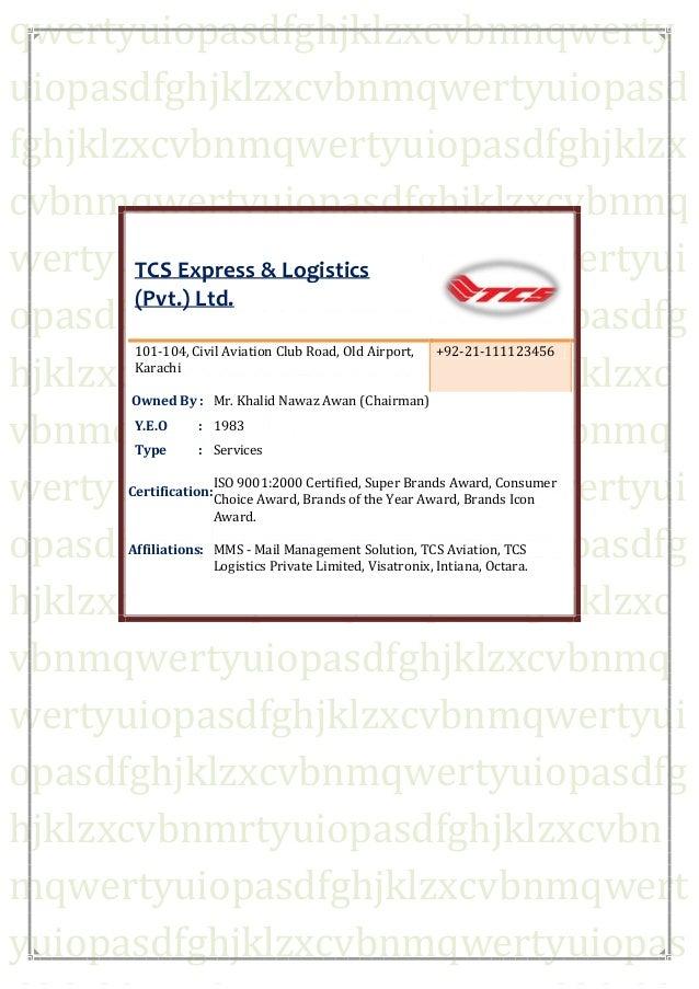 TCS REPORT