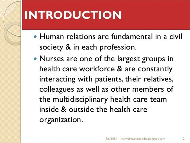 human relations movement 2 essay (85) the human relations movement began to expand in time and organizations started to understand the vital importance of groups and social relationships at work and managers began to attend to employees emotional needs.