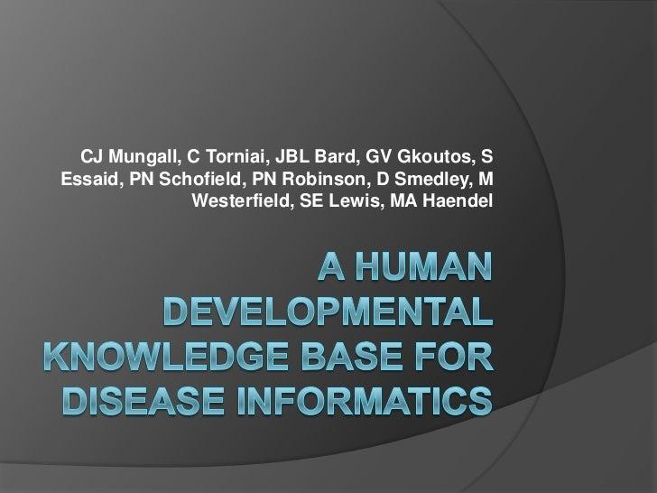 Human developmental-kb-2012