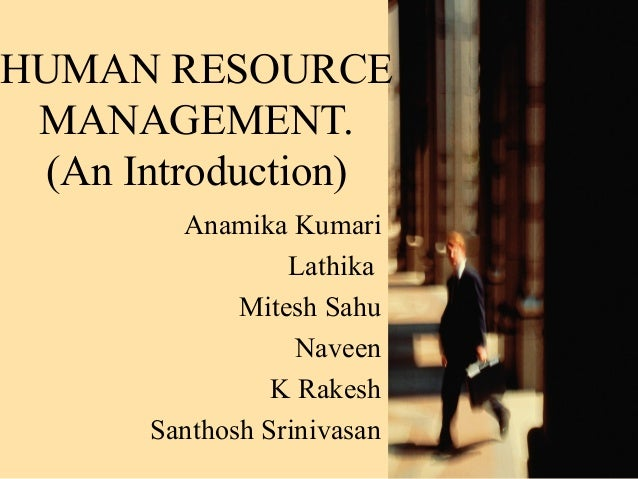 Human resource-management
