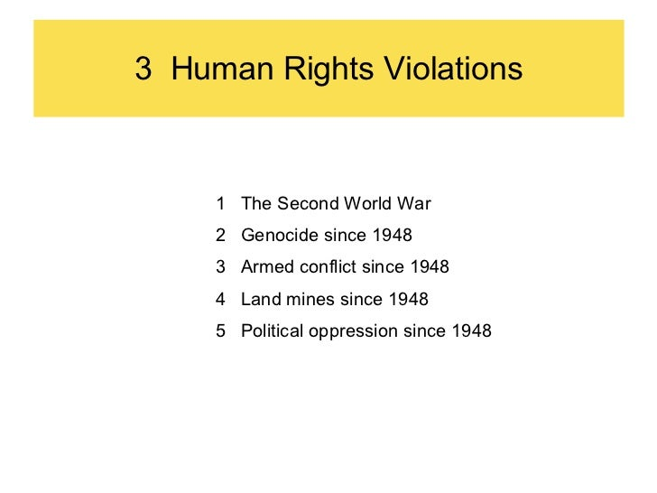 What are some American Wars to Stop Human Rights Violations?