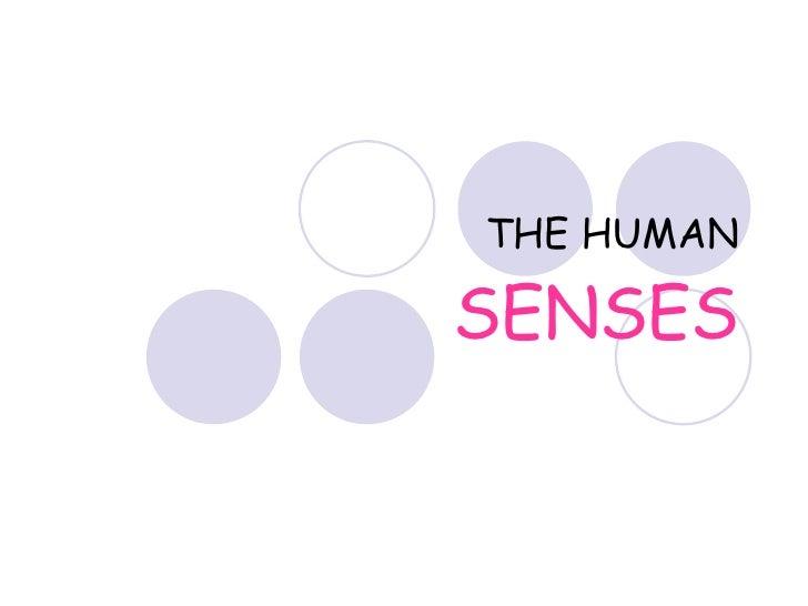 Human Senses Disability