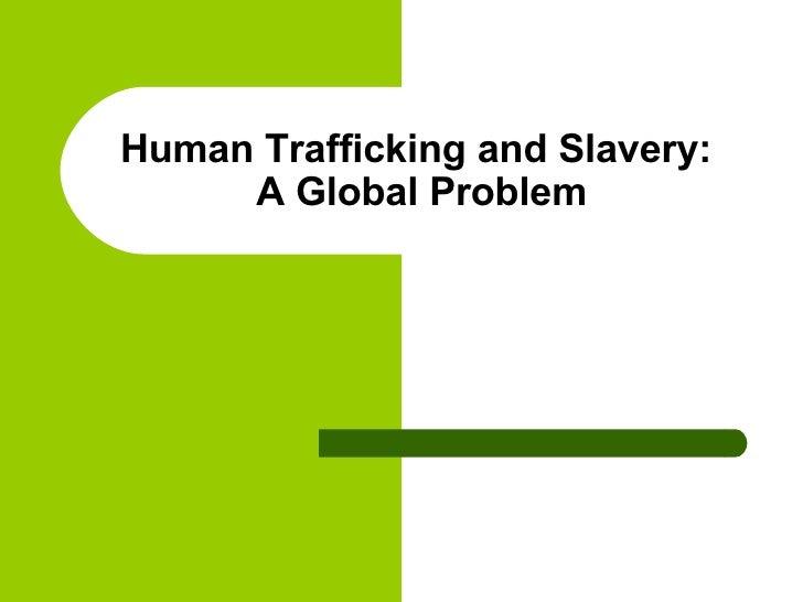 Human Trafficking Intro