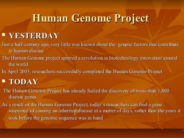 genome essay