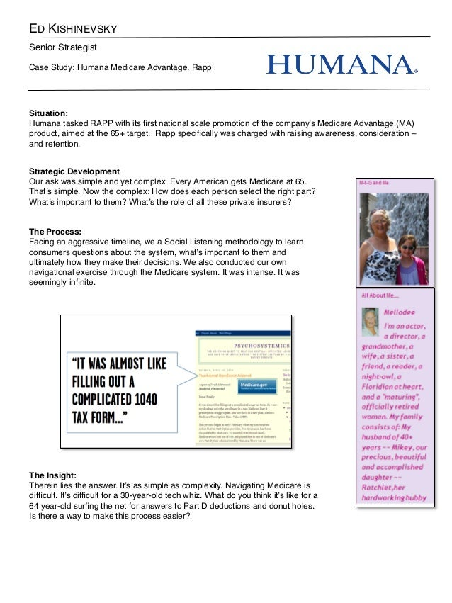 Humana Medicare Case 71415