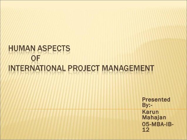 Presented By:- Karun Mahajan 05-MBA-IB- 12