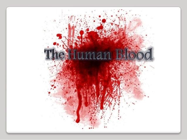 Lesson 3.2 Human blood