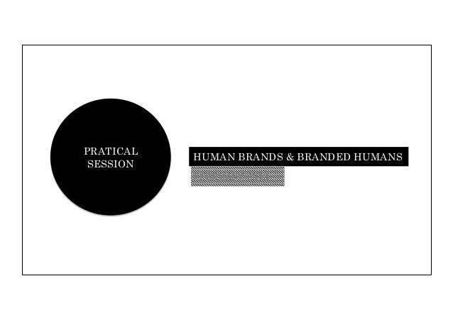 Human brands and branded humans