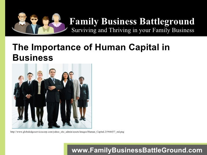 Family Business Battleground Surviving and Thriving in your Family Business www.FamilyBusinessBattleGround.com   The Impor...