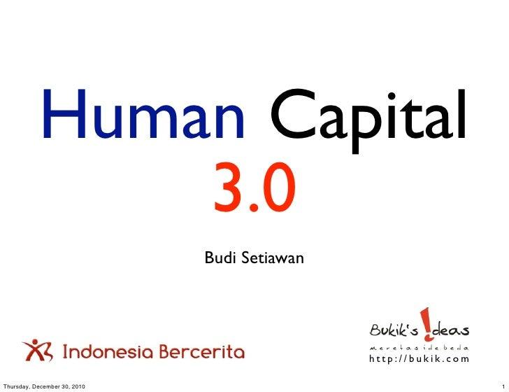 Human Capital 3.0