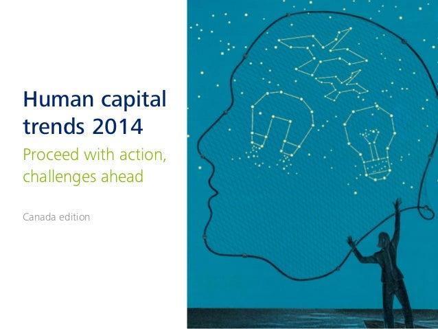 Human capital trends 2014 -- Canada edition