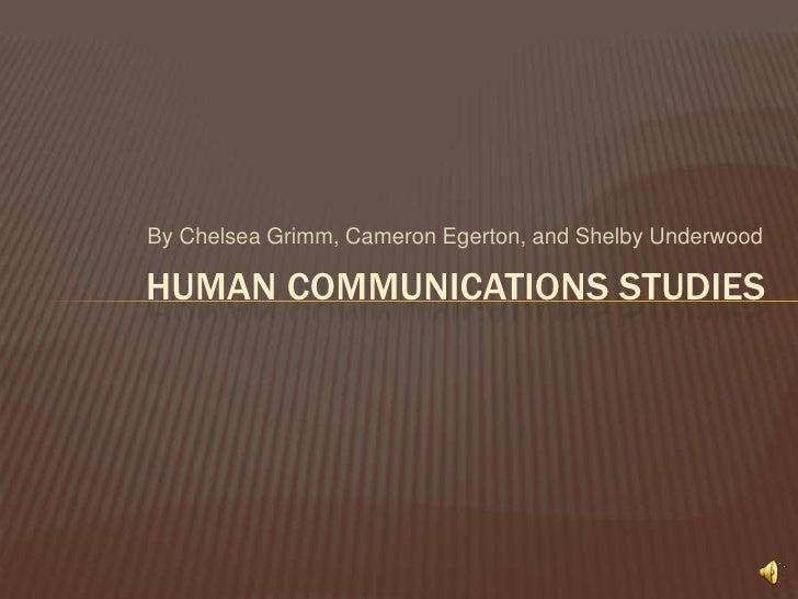 Human Communication Studies