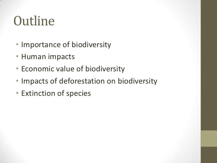 destruction of biodiversity Habitat destruction renders entire habitats functionally unable to support the  species present biodiversity is reduced in this process when existing organisms  in.
