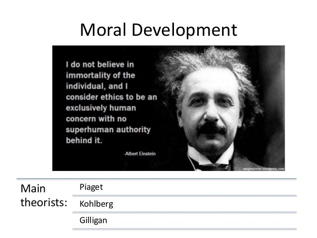 kohlberg and gilligan theory of moral development pdf
