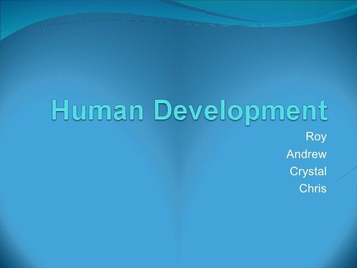 Human Development Presentation