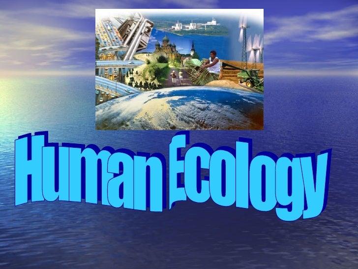 Human ecology2012