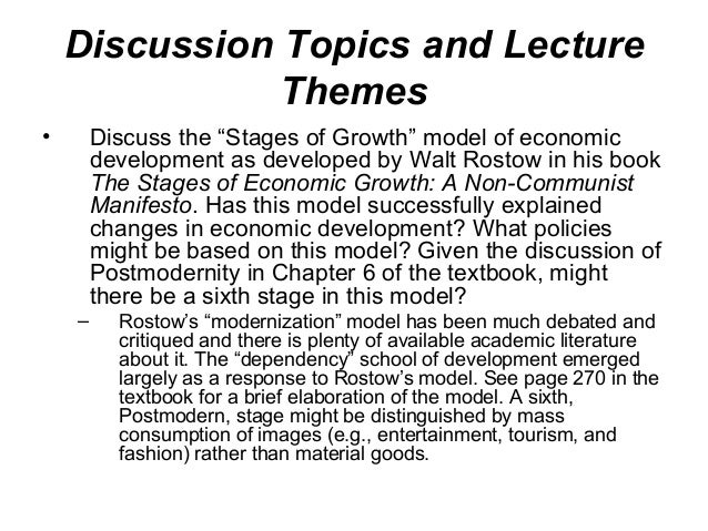 a discussion on germanys model of economic growth and its influence Is it possible for an economy to continue how does an increase in the population growth rate affect economic growth in the solow model  germany, and japan.