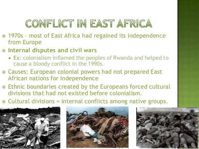 causes of african internal conflict The causes and dynamics of conflict in sub-saharan conditions make it difficult for african states to achieve lasting stability the causes are rooted in the.