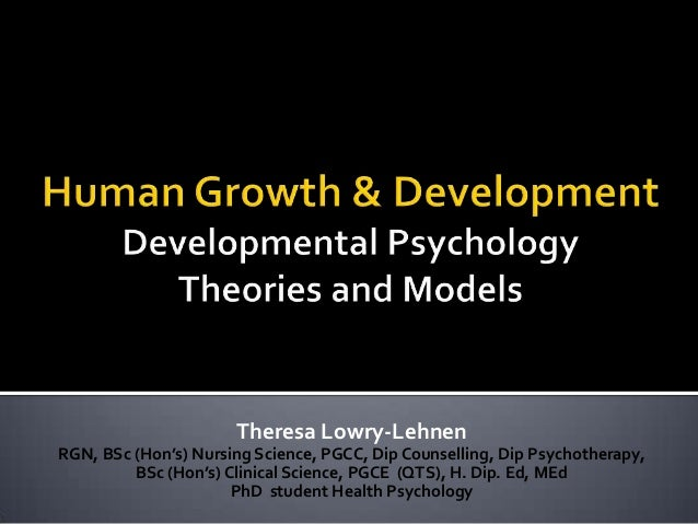 Interesting human growth/development topic?