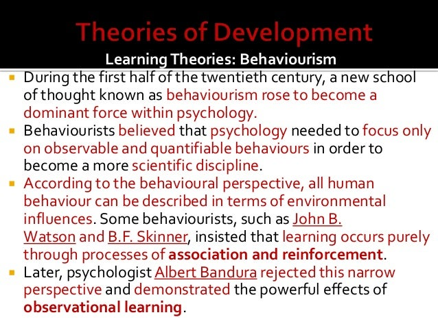 child development research topics