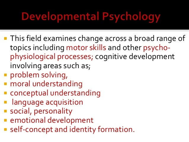 psychology human development essay example