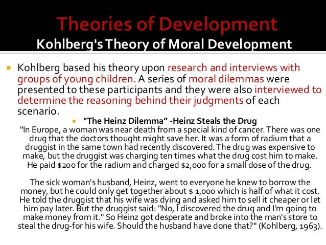concepts of values and moral development