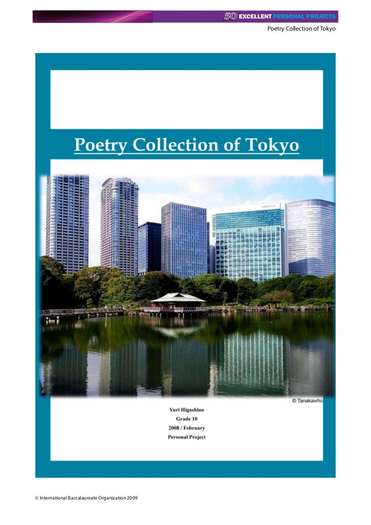 Poetry Collection of Tokyo© International Baccalaureate Organization 2009