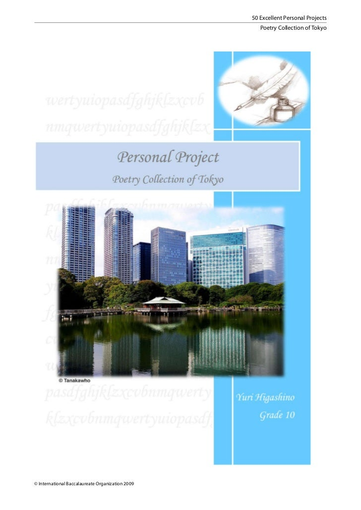 50 Excellent Personal Projects                                                     Poetry Collection of Tokyo© Internation...