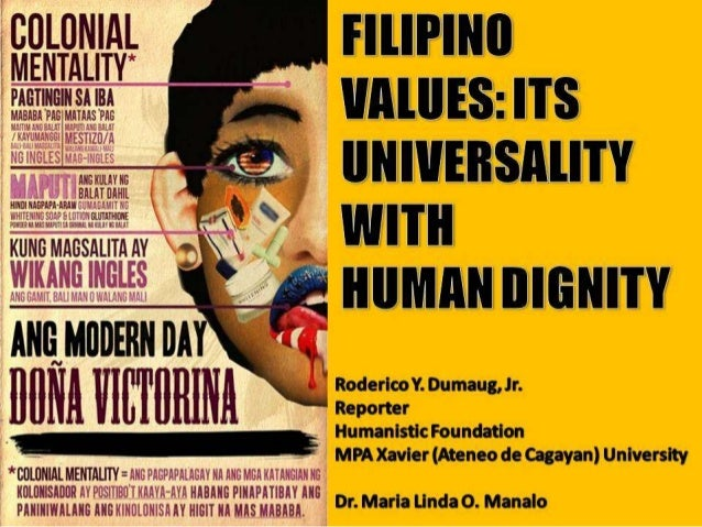 Filipino Values List Filipino Values And Human