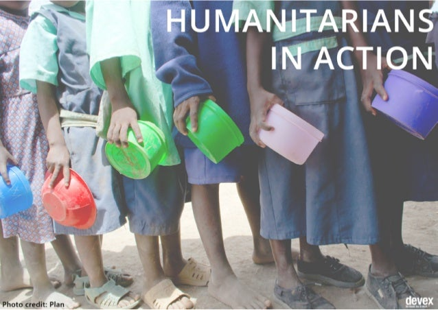 Have photos of humanitarians in action? Share them with us! gdb@devex.com @devex facebook.com/Devex